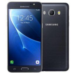 Samsung Galaxy J5 (2016) kártyafüggetlen használt szép állapotú fekete színben