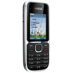 Nokia C2-01 szép állapotú használt készülék Telenor függő fekete színben