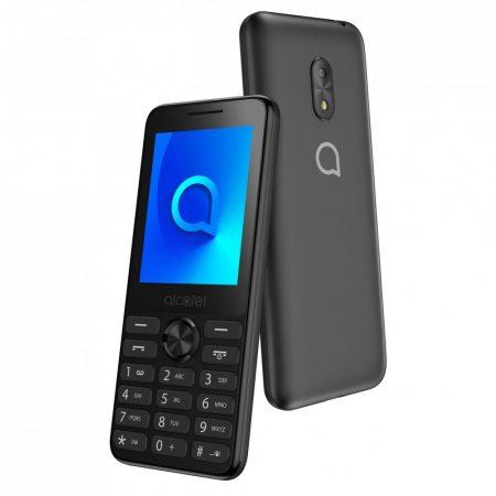 Alcatel 2003G Nagy kijelzős mobiltelefon fekete színben
