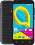 Alcatel U5 Dual-simes használt készülék fekete színben, kártyafüggetlen