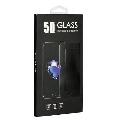 iPhone 6/6s 3D üvegfólia fekete színben