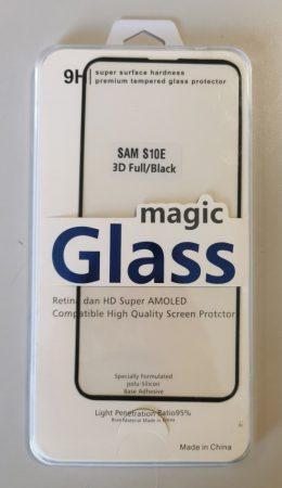 Samsung Galaxy S10e 3D üvegfólia, teljesen fed