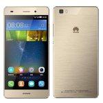 Huawei P8 lite arany kártyafüggetlen, szép állapotú okostelefon