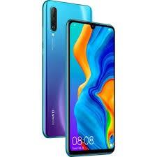 Huawei P30 lite karcmentes, kártyafüggetlen, Dual-simes okostelefon kék színben 128gb belső memóriával