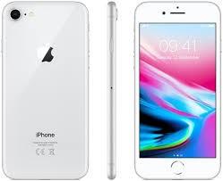 Apple iPhone 8 64GB-os okostelefon, kártyafüggetlen, ezüst színben