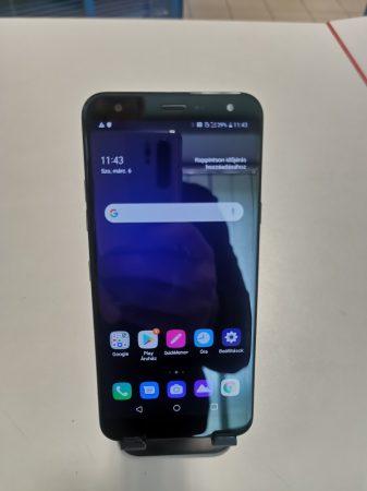 LG K40 szép állapotú használt, kártyafüggetlen, DUAL-simes okostelefon kék színben