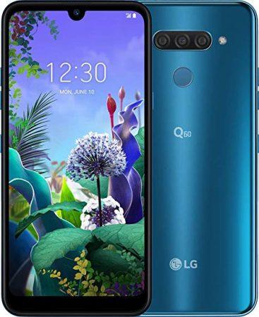 LG Q60 karcmentes DUAL-simes, kártyafüggetlen, kék színben