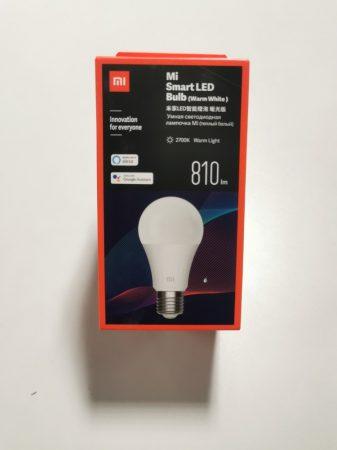 Xiaomi Mi Smart LED Bulb Essential (meleg fehér) okosizzó E27 foglalattal
