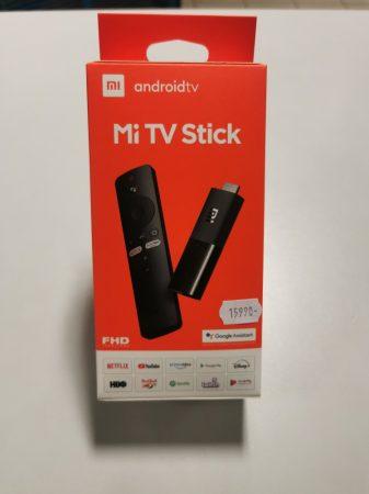 Xiaomi Mi TV Stick TV okosító Full HD, Beépített Chromecast-tal, távirányítóval