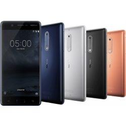 Nokia 5 szép állapotú, kártyafüggetlen, DUAL-simes okostelefon ezüst színben