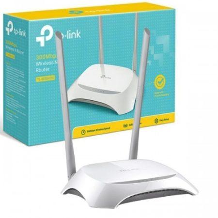 TP-LINK TL-WR840N Vezeték Nélküli Router (300Mbps)