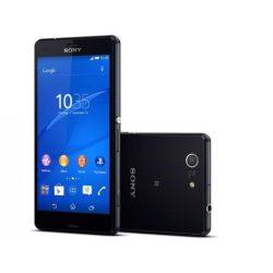 Sony Z3 compact fekete színű, kártyafüggetlen, karcmentes okostelefon