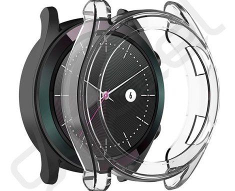 Huawei Watch GT 2 Átlátszó Szilikon Tok